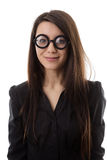 Funny glasses Royalty Free Stock Image