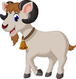 Funny goat cartoon Royalty Free Stock Images