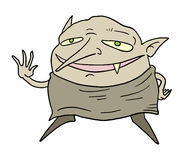 Funny goblin Royalty Free Stock Images
