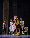 Funny Godfather-The Ballet  Nutcracker Royalty Free Stock Images