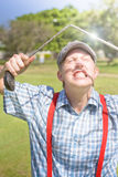 Funny Golf Stock Photo