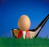 Funny golf concept. Stock Photography