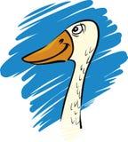 Funny goose Stock Photos
