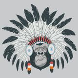 Funny gorilla. Vector illustration: funny gorilla. This is file of EPS10 format Stock Photography