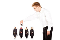 Funny graduation Stock Images