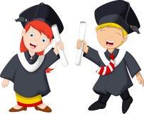 Funny graduation celebration Royalty Free Stock Image