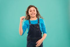 Funny grimaces. Playful teen model. Acting skills concept. Tips and tricks to loosen up in front of camera. Acting. School for children. Girl artistic kid royalty free stock photography