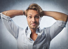 Funny guy Stock Photography