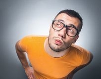 Funny guy Royalty Free Stock Images
