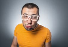 Funny guy Royalty Free Stock Image