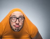 Funny guy Royalty Free Stock Photography