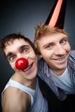Funny guys Stock Photo