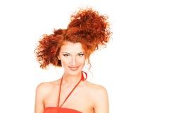 Funny hairdo Royalty Free Stock Photo