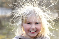 funny hairs Stock Photography