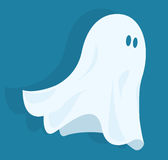 Funny halloween ghost Royalty Free Stock Images