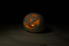 Funny halloween little pumpkin Royalty Free Stock Image