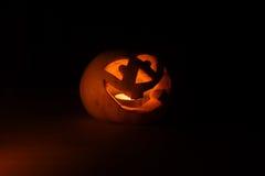 Funny halloween little pumpkin Royalty Free Stock Photography