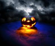 Funny halloween pumpkin Royalty Free Stock Photography