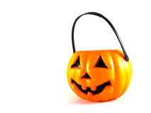Funny Halloween Pumpkin Stock Photography