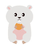 Funny Hamster Illustration Royalty Free Stock Photography