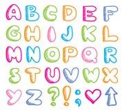 Funny alphabet Royalty Free Stock Image