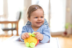Funny Happy Baby Royalty Free Stock Photo