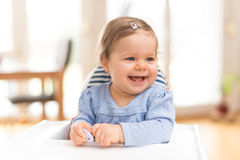 Funny Happy Baby Stock Photos