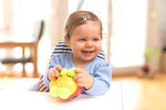 Funny Happy Baby Royalty Free Stock Images