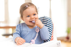 Funny Happy Baby Stock Image