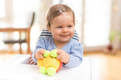 Funny Happy Baby Stock Images