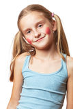 Funny happy little girl. Royalty Free Stock Photography