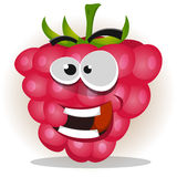 Funny Happy Raspberry Character Royalty Free Stock Photos
