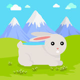 Funny Hare Illustration Royalty Free Stock Photography