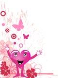 Funny heart Royalty Free Stock Photo