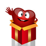 Funny heart for organ donation Royalty Free Stock Images