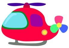 Funny helicopter for kids vector illustration