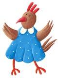 Funny Hen Stock Photos