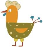 Funny hen Royalty Free Stock Photo