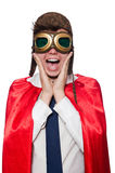 Funny hero Royalty Free Stock Images