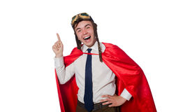 Funny hero Royalty Free Stock Photography