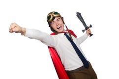 Funny hero Royalty Free Stock Photo