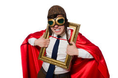Funny hero Royalty Free Stock Photos