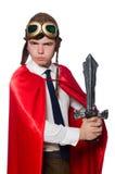 Funny hero Stock Photography