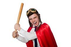Funny hero Stock Photo