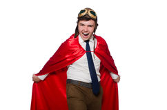 Funny hero Stock Photography