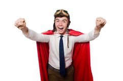 Funny hero Royalty Free Stock Photo