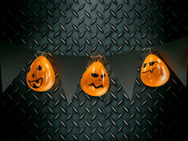 Funny homemade halloween decoration Royalty Free Stock Image