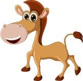 Funny horse cartoon. Illustration of funny horse cartoon Stock Photography