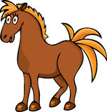 Funny horse Stock Image