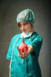 Funny hospital surgeon image Royalty Free Stock Photo